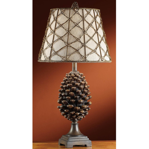 Pine Cone Lamp | Crestview Collection | CVASP083-1