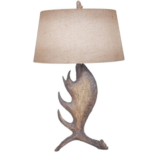 Moose Antler Table Lamp