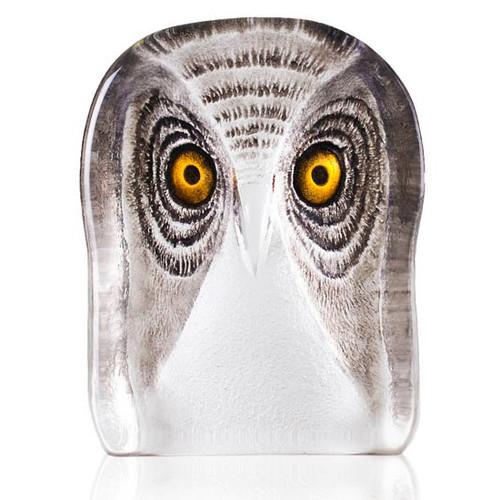 Owl Crystal Sculpture   34105   Mats Jonasson Maleras