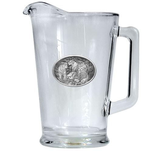 Lion Beer Pitcher