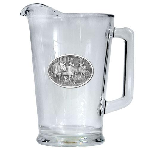 Moose Beer Pitcher