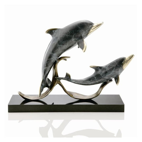 "Dolphin Sculpture ""Sailors Delight"" | 80180"
