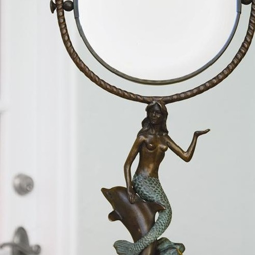 Mermaid & Dolphin Vanity Mirror | 30392