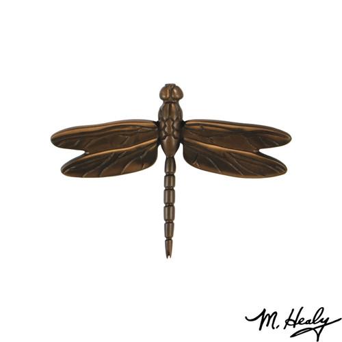 Dragonfly Oiled Bronze Door Knocker