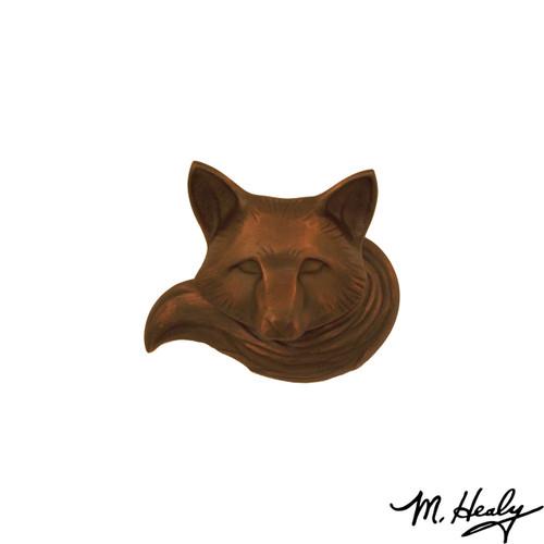 Fox Oiled Bronze Door Knocker