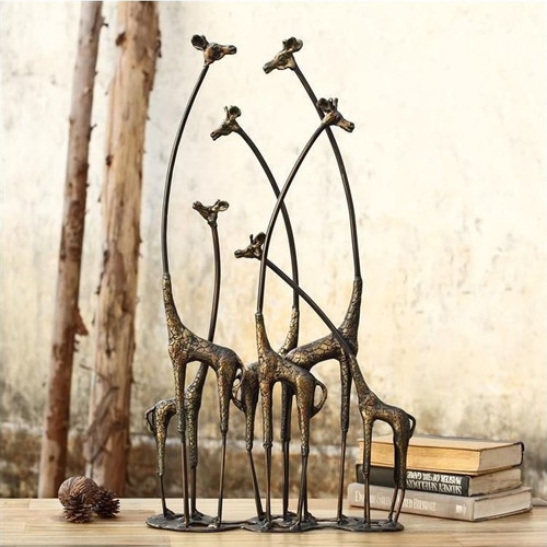 "Giraffe Sculpture ""Towering Herd"" 