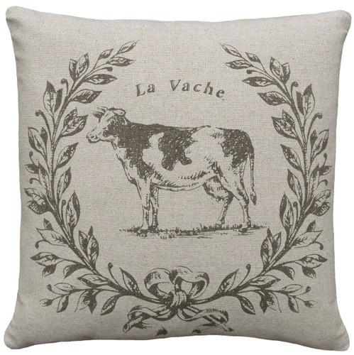 Cow Linen Pillow