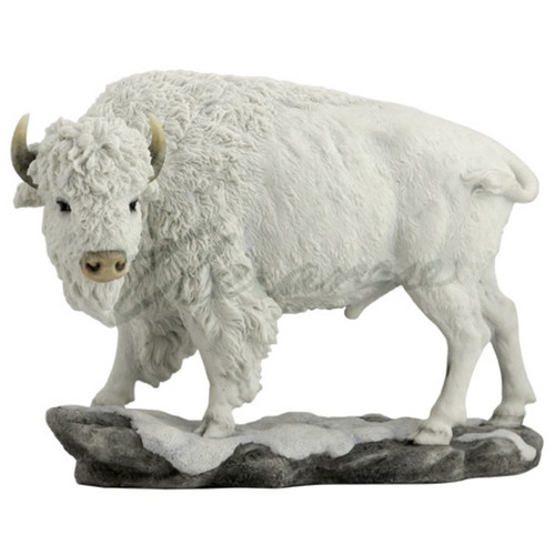 White Buffalo Sculpture