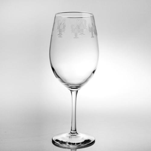 Lobster 18 oz Wine Glass Set of 4