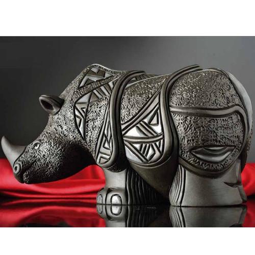 Rhino Porcelain Stoneware Figurine | Rinconada