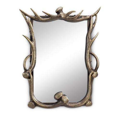 Faux-Antler Wall Mirror | 34668