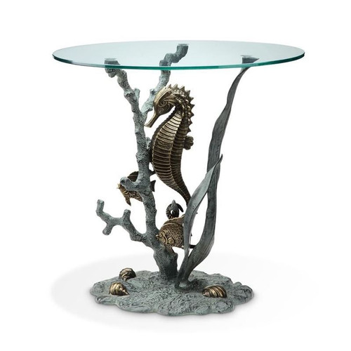 Seahorse End Table | 33786