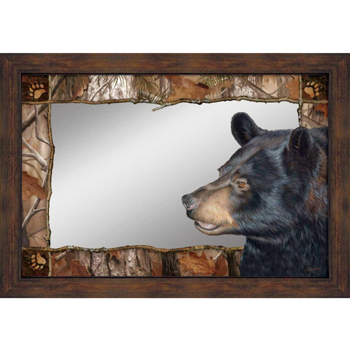 "Bear Decorative Mirror ""Bruin Bear"""