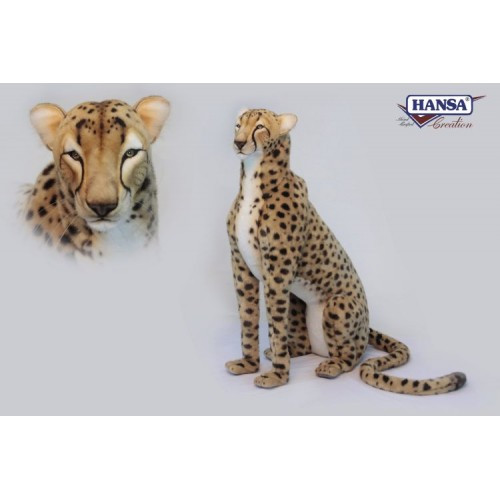Cheetah Life-Sized Stuffed Animal