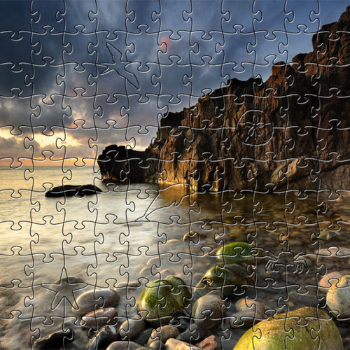 Shore Wooden Jigsaw Puzzle