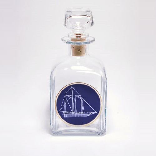 "Sailboat Decanter ""America's Cup"""