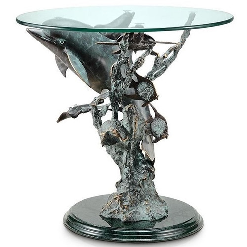 Dolphin Sea World End Table | 30307