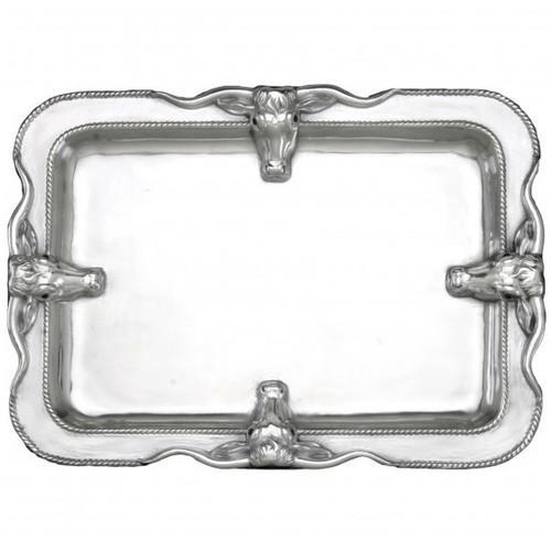 Longhorn Large Platter