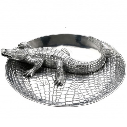 Alligator Chip and Dip Tray
