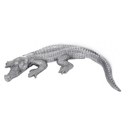 Alligator Aluminum Sculpture