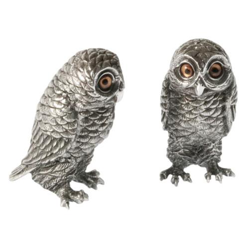 Owl Salt Pepper Shakers