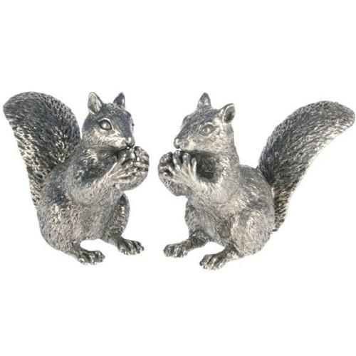 Pewter Squirrel Salt Pepper Shakers | Vagabond House | VHCS116