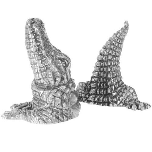 Alligator Salt Pepper Shakers