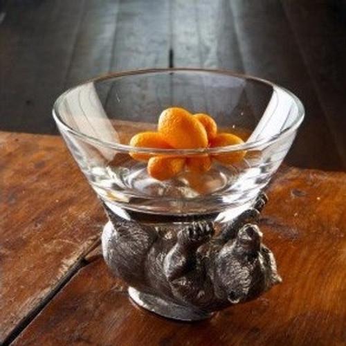 Bear Glass Bowl