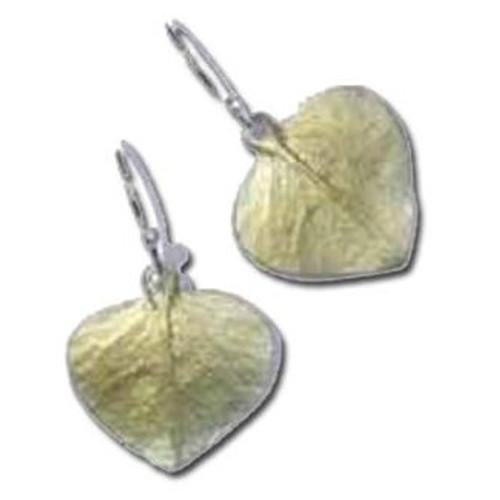 Eucalyptus Drop Wire Earrings | Nature Jewelry