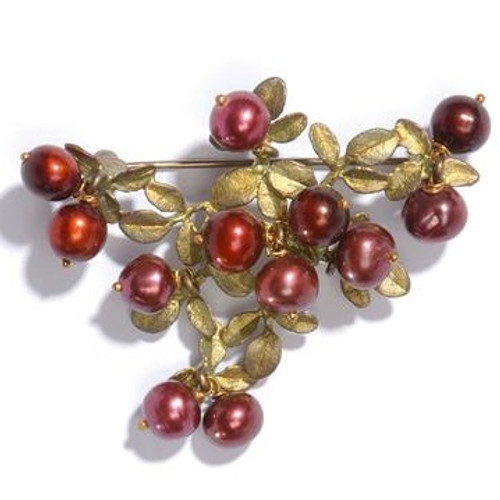 Cranberry Design Pin | Nature Jewelry