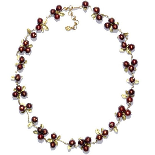Cranberry Cluster Necklace | Nature Jewelry