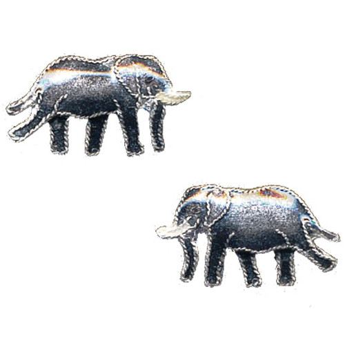 Elephant Post Cloisonne Earrings | Nature Jewelry