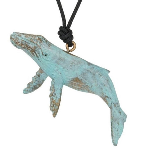 Humpback Whale Pendant Necklace | Nature Jewelry