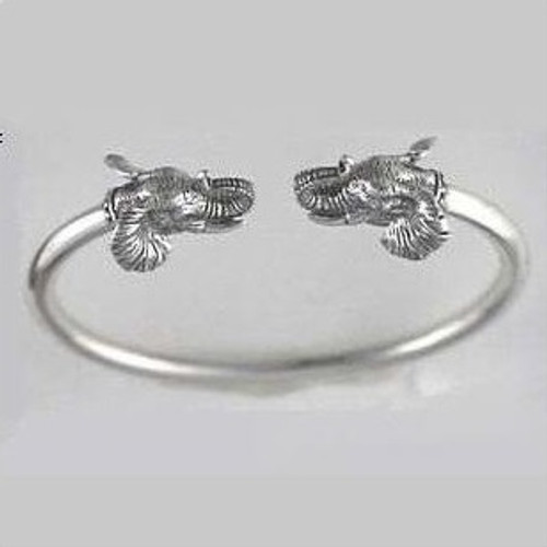 Elephant Sterling Silver Bracelet | Nature Jewelry
