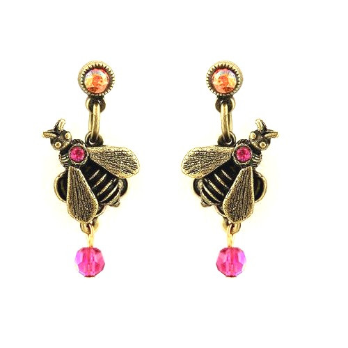 Baby Bee Droplet Earrings Oh Bee Have! | Nature Jewelry