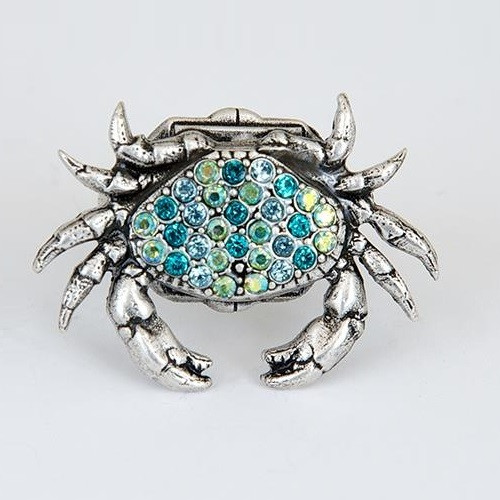 Crab Pave Ring | Nature Jewelry