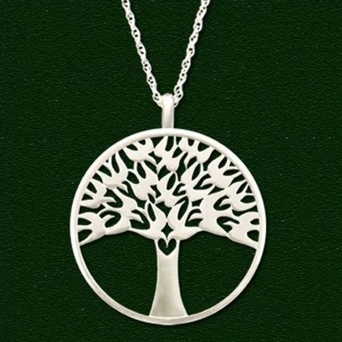 Arbor Vitae Pendant Necklace | Nature Jewelry