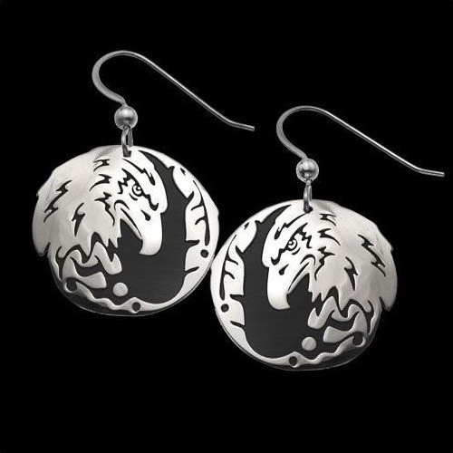"""Eagle Earrings """"Protector"""" 