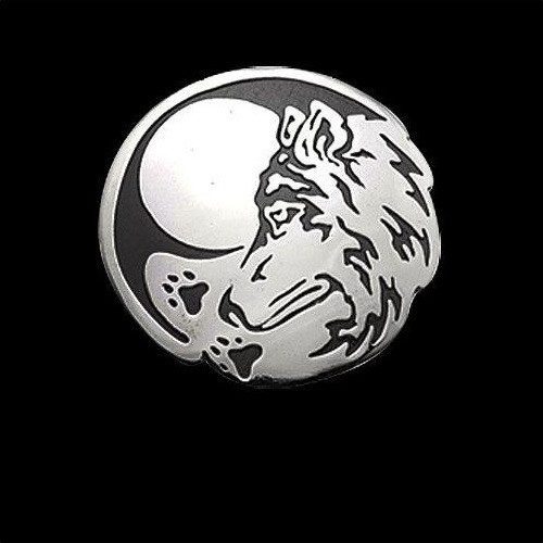 Wolf Seeker Sterling Silver Pendant Necklace | Nature Jewelry