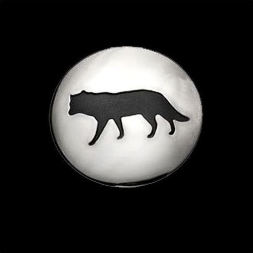 Wolf Shadows Large Pendant Necklace | Nature Jewelry
