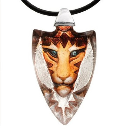 Tigris Yellow Tiger Crystal Necklace    84124   Nature Jewelry