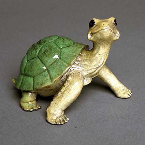 """Turtle Bronze Sculpture """"Daden"""""""