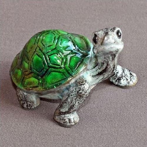 "Turtle Bronze Sculpture ""Daden Jr."""