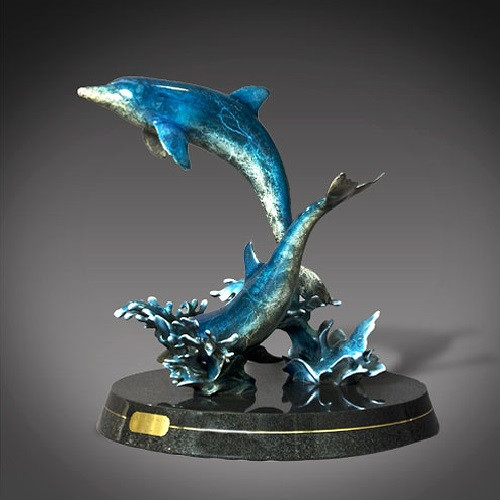 """Dolphin Bronze """"Out of the Blue"""""""