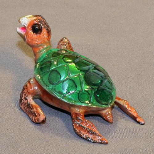 Sea Turtle Bronze Sculpture