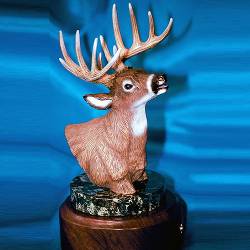 Deer Bronze Sculpture | Barry Stein | BBSWHI1-D