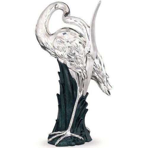 Heron Ltd Edition Silver Plated Sculpture | 2504