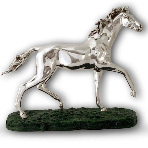 Horse Silver Plated Sculpture | A15