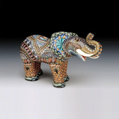 Elephant Baby Figurine