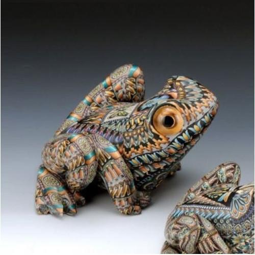 Frog Mama Figurine